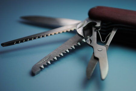 pocket knife: Pocket Knife Stock Photo