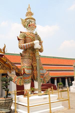 daemon: Guardian Daemon, Royal Palace, Bangkok, Thailand