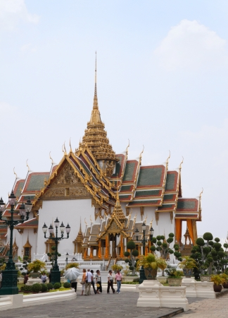 The Grand Palace in Bangkok, Thailand  Stock Photo