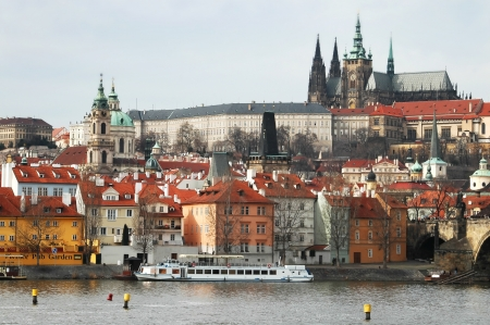 Castle District of Prague, Czech Republic Stock Photo - 16287203