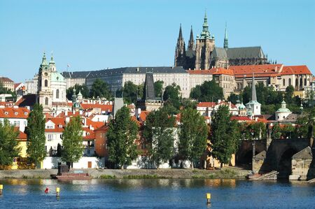 Castle District of Prague, Czech Republic Stock Photo