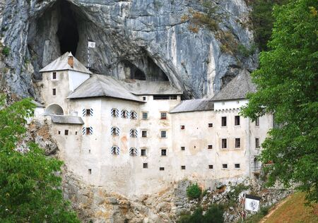 Predjama Castle in Postojna, Slovenia