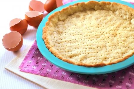 Shortcrust pastry for making sweet tart Stock Photo