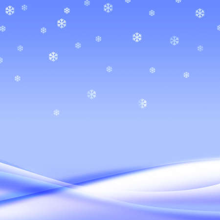 Fall snowflakes in a gentle snowdrift. Silent winter mood. It is a Beautiful background for your design.  photo