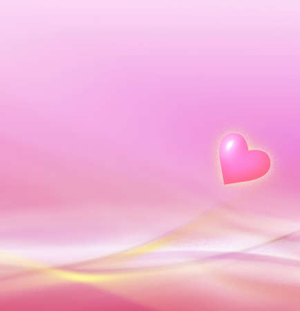 Beautiful love background! Is made in light and gentle pink and yellow colours photo