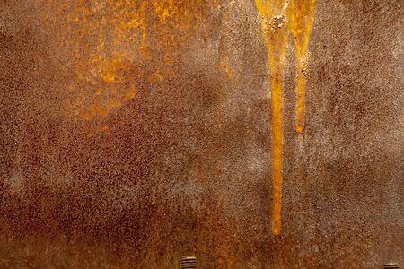 angustiado superficie metálica / oxidado pared / grunge fondo