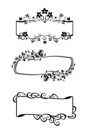 Frames set / vector / eenvoudig te veranderen Stockfoto - 5304797