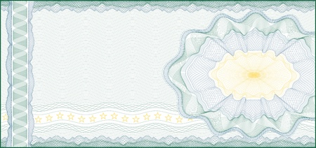 Guilloche Background for Voucher, Gift Certificate, Coupon or Banknote    layers are included for easy editing