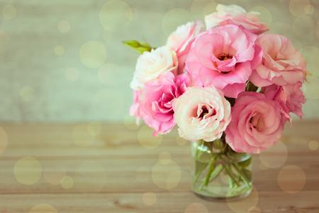 Rose flowers bouquet - vintage color style