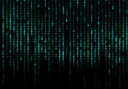 Matrix code conceptuele achtergrond