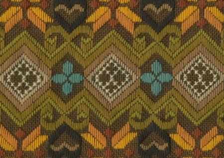 Ornate cotton weave background photo