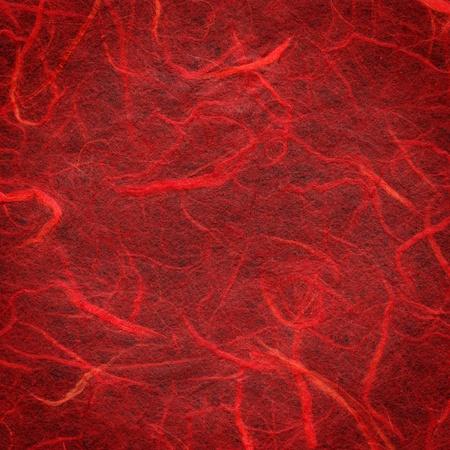 Red handmade paper texture