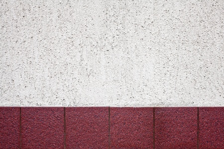 Cement and tile wall background photo