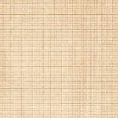 Old sepia graph paper square grid background Foto de archivo