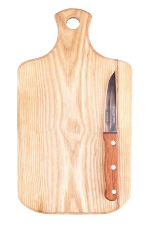 cuchillo de cocina: Junta de cortar con un cuchillo en �l