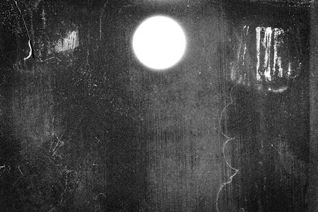 Medium format film frame with heavy scratches, dust and grain   Foto de archivo