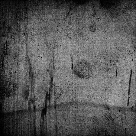 Grungy medium format film frame with heavy grain and fingerprints