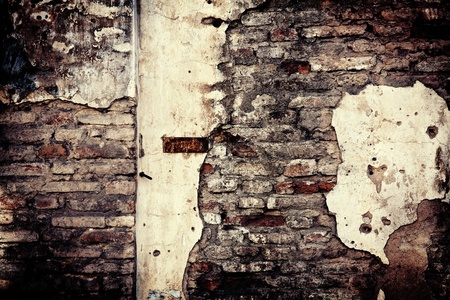 Detail of an old cracked cement walll texture 版權商用圖片 - 11075680