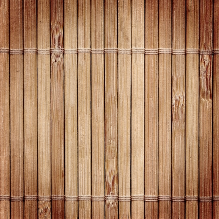 bamboo mat: Bamboo wood texture with natural patterns  Stock Photo