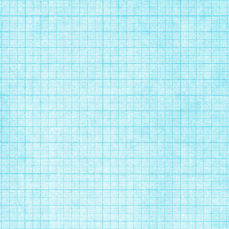 Old blue graph paper square grid background photo