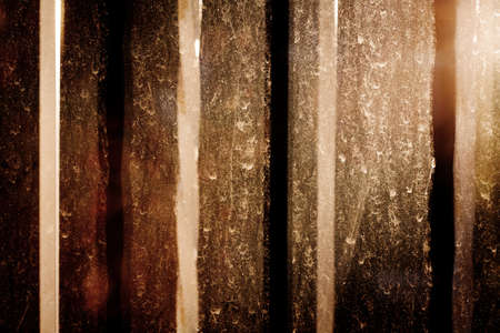 very dirty: Very dirty glass window texture and evening sunshine background