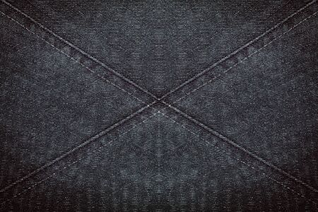 Abstract designed jeans fabric texture background photo