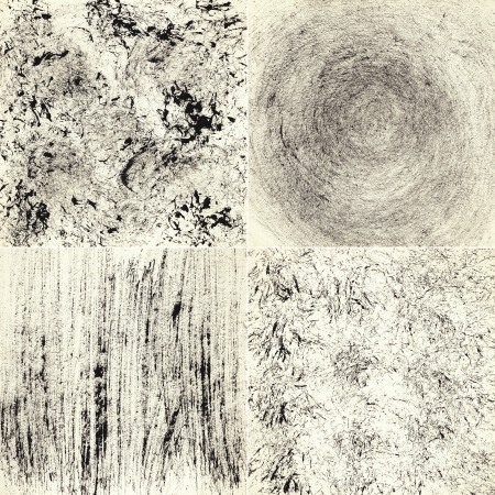 Set of abstract hand painted art backgrounds, made myself   photo