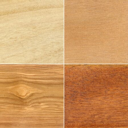 Set of wood textures photo