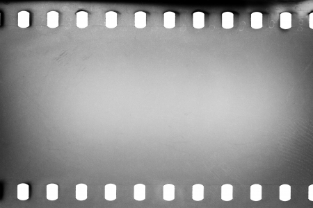 Blank grained film strip texture background Stock Photo - 19752869