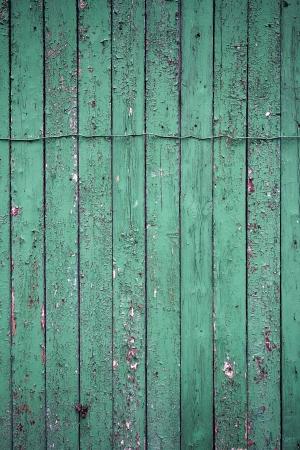 Peeling pintura verde en degradado textura de madera Foto de archivo - 20189270