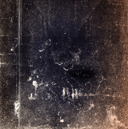 Designed medium format film background with heavy grain, dust and scratches  photo