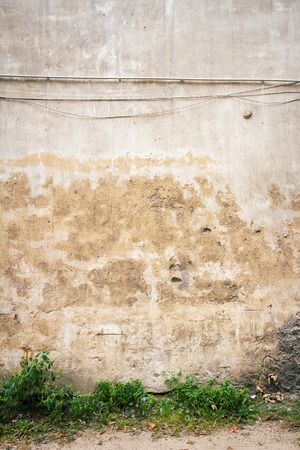 Aged weathered street wall background  photo