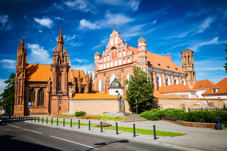 St. Annes Church and Bernardine Monastery in Vilnius, Lithuania