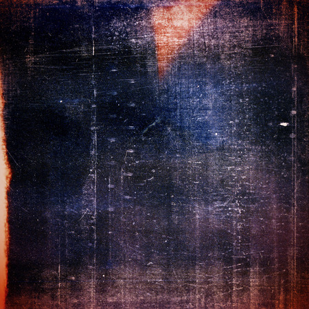 Designed medium format film background with heavy grain, dust and light leak photo