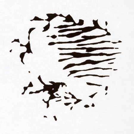 layer mask: Abstract hand painted art background