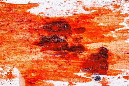 tempera: Abstract hand painted arts  Stock Photo