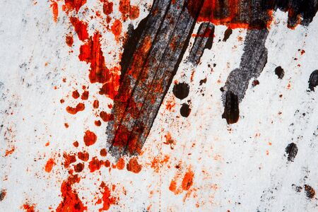 layer mask: Abstract hand painted red and black arts background