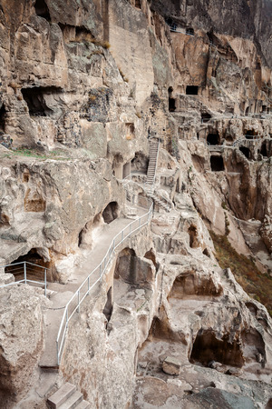 12th century: Vardzia cave city monastery built in 12th century is one of main attractions of Georgia