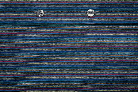 lined: Lined fabric texture with buttons background