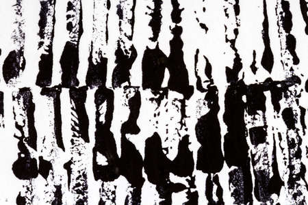 tempera: Abstract hand painted acrylic black color art background