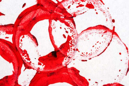 layer masks: Abstract hand painted red acrylic arts background