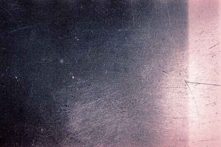 film  negative: Blank grained film strip texture background with heavy grain, dust, scratches and light leak Stock Photo