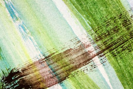 layer masks: Abstract hand painted yellow green and black colors art background Stock Photo