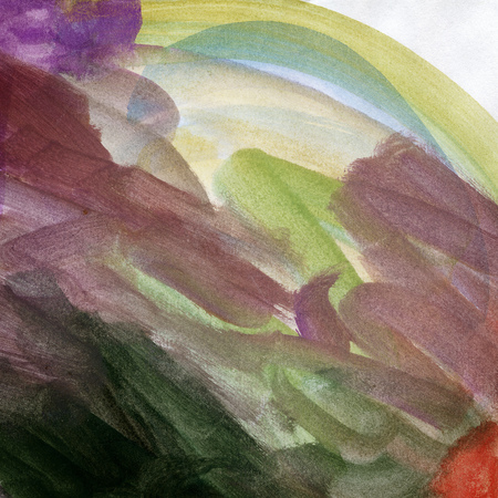 vibrant: Abstract vibrant watercolor arts background Stock Photo