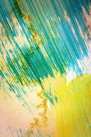 tempera: Designed abstract hand painted grungy art background