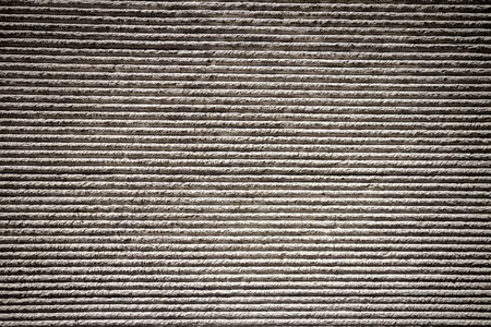 lined: Gray lined plaster street wall texture