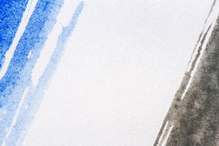layer masks: Abstract hand painted blue and black art background