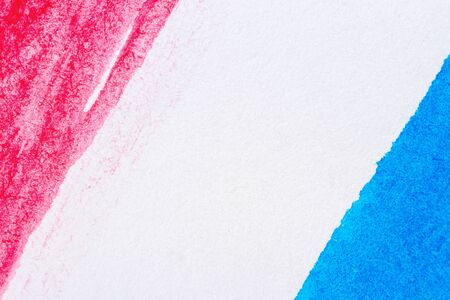 layer masks: Abstract hand painted blue and red art background