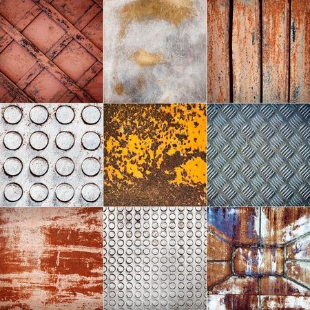 metal textures: Big size collection of various metal textures