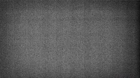 Noisy film frame with heavy noise, dust and grain. Abstract old film background 版權商用圖片